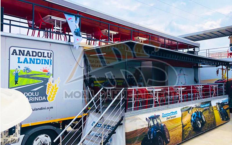 Tarım Fuarları Mobil sahne Stand Yönetimi Stan Tasarımı